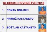 KLUBSKO PRVENSTVO 20'16