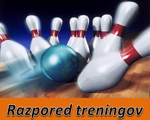 RAZPORED TRENINGOV